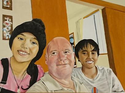 Anisah, Dan and Kazhim