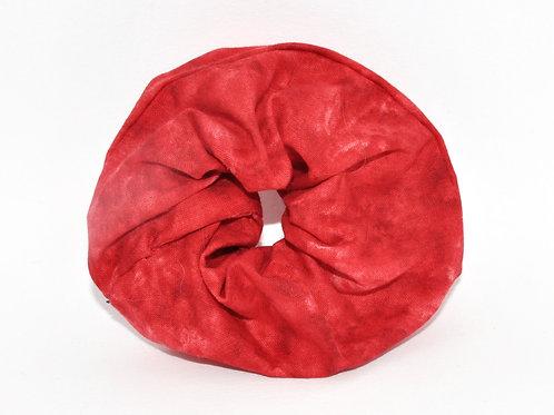 Red Coral Scrunchie