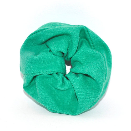 Green Machine Scrunchie
