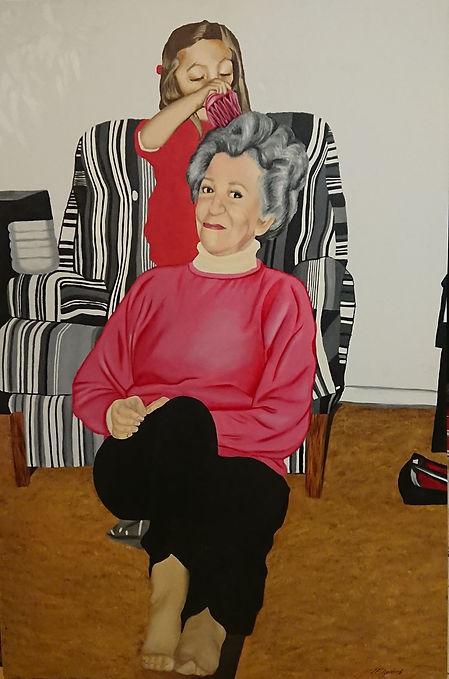 Granddaughter Grandmother Portrait