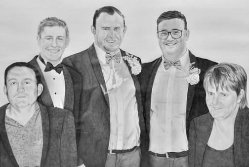 Bill, Nik, Paul, Bradley and Kay