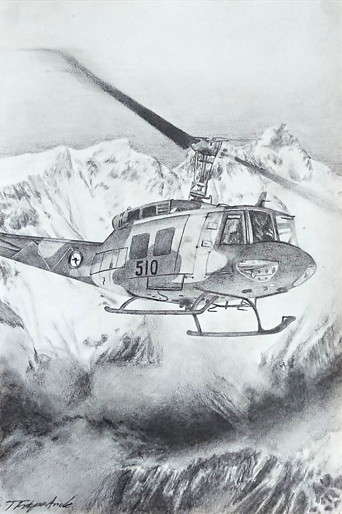 Bell UH-1 Iroquois (Huey) Helicopter