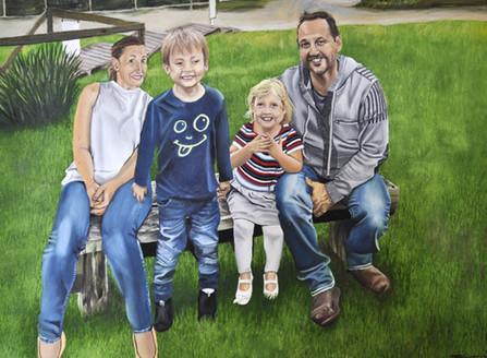 Jones Family Portrait