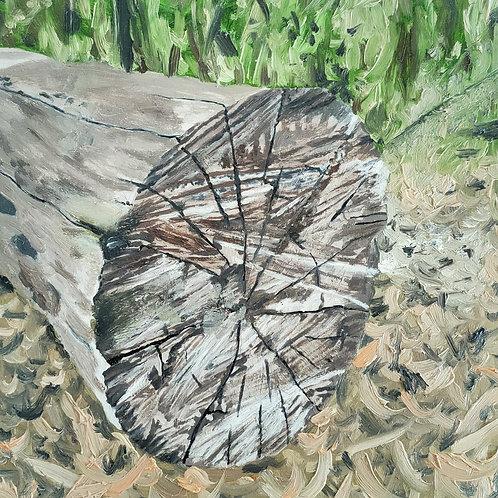 Log Original Painting or Print