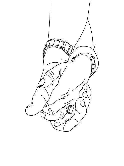 Printable Custom Line Drawing