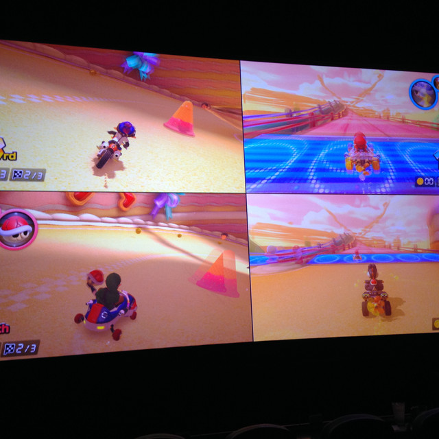Playing on the Movie Screen