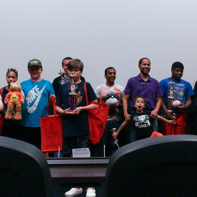 Participants With Their Prizes