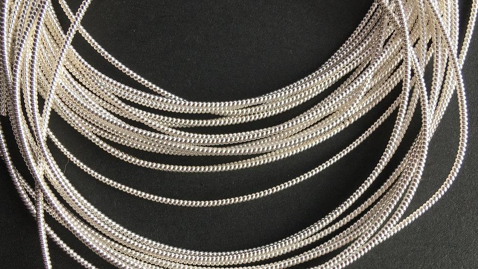 Silver Pearl Purl No. 1