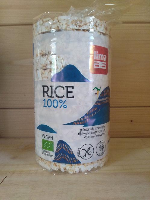 Galettes de riz bio / 100gr