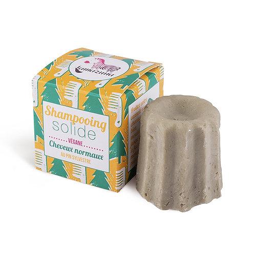 Shampoing solide pour cheveux normaux au parfum pin sylvestre