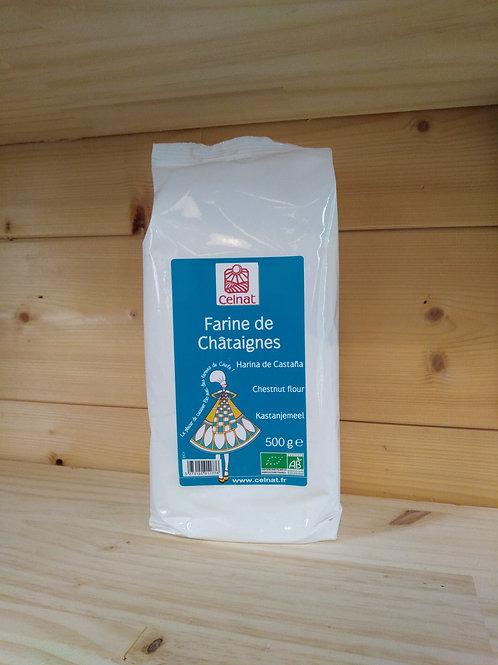 Farine de châtaigne Bio - 500 gr / France