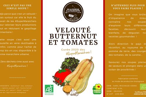 Veloutés butternut et tomates bio des #SuperMaraîchers / 0.5L