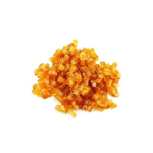 Ecorces d'oranges confites bio / 200gr