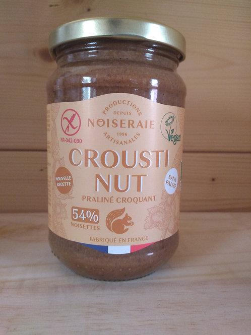 Croustinut bio, praliné noisette croquant / 300gr