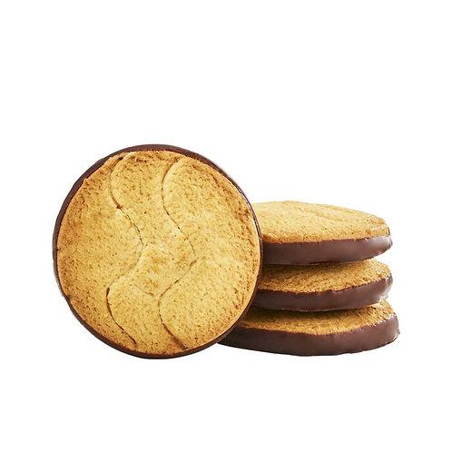 Biscuit nappés au chocolat noir bio / 200gr