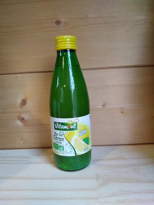 Jus de citron Bio / 25 cl