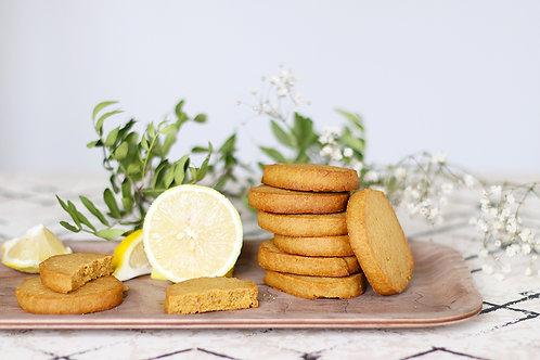 Biscuit citron sans gluten bio / 200gr - Origine UE/Non UE