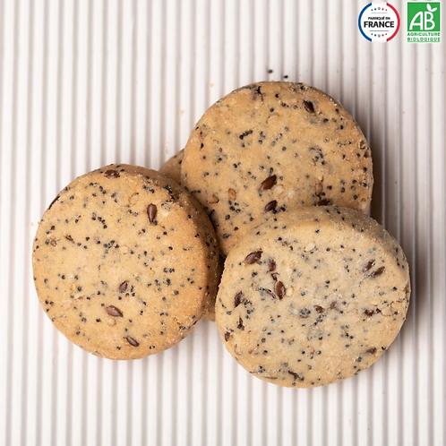 Biscuits multigraine vegan bio / 200gr - Origine UE / non UE
