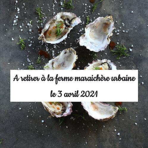 Bourriches d'huîtres en pré-commande jusqu'au 26/03/21 - France
