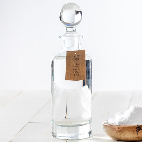 Flacon d'un litre de vinaigre d'alcool bio à 12% - UE