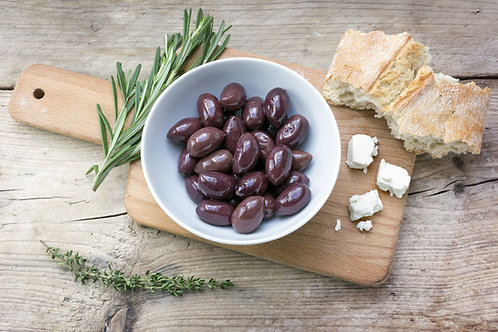 Olives noires bio de Kalamata / 200gr