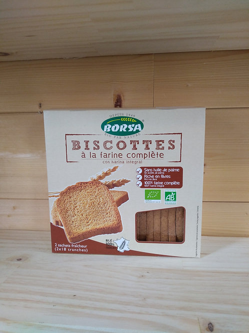 Biscotte complètes Bio - 300 gr