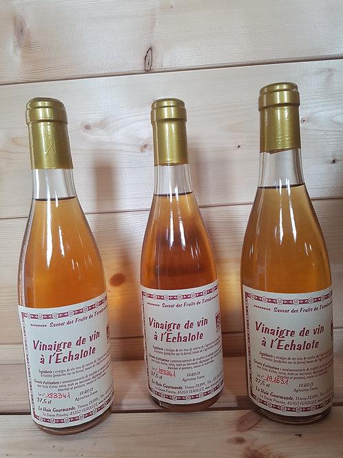 Vinaigre de vin bio à l'échalote 37,5 cl