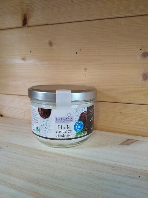 Huile coco desodorisée Bio - 400 ml