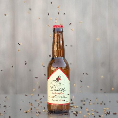 """Bière """"La déesse"""" - Cherry beer / 33cl"""