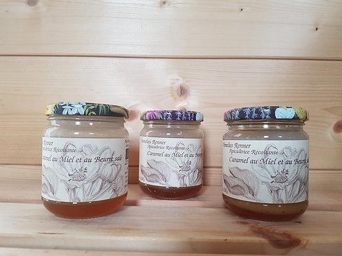 Caramel au miel bio et beurre salée