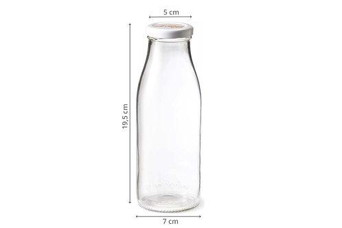 Bouteille en verre réutilisable / 0.5L