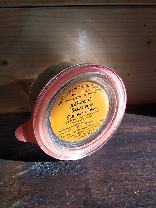 Rillettes de silures aux tomates séchées / 110gr