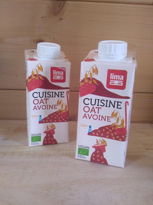 Crème de cuisine avoine bio / 200ml