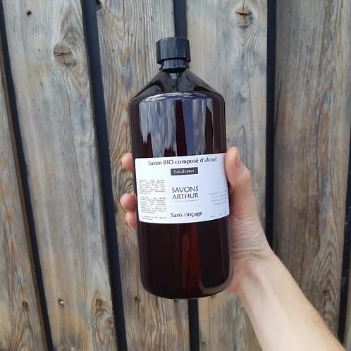 Flacon de 300ml de gel hydroalcoolique bio – FRANCE