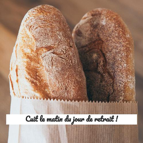 Baguette tradition bio aux graines - France