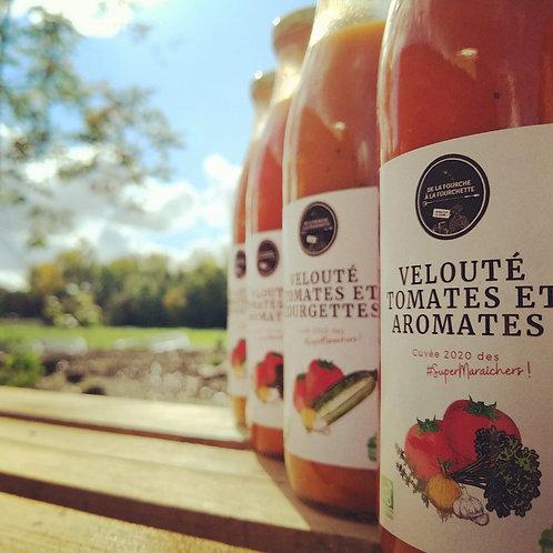 Veloutés tomates et aromates bio des #SuperMaraîchers / 0.5L