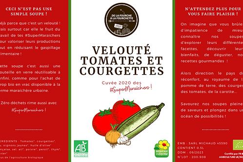 Veloutés tomates et courgettes bio des #SuperMaraîchers / 0.5L