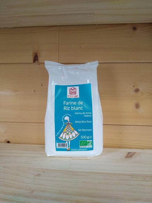 Farine de riz blanc Bio - 500 gr / Italie