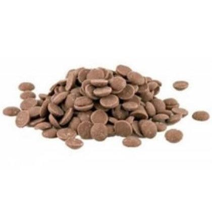 Pistoles de chocolat au lait bio / 200gr - UE / NON UE