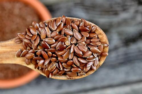 Graines de lin brun bio / 500gr
