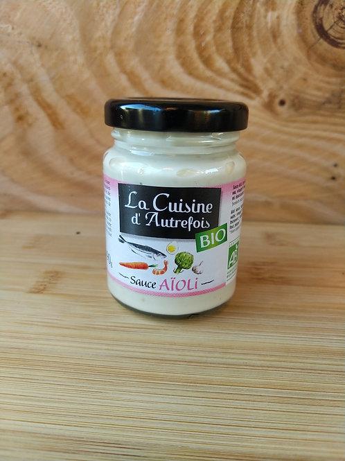 Sauce aïoli bio / 90gr