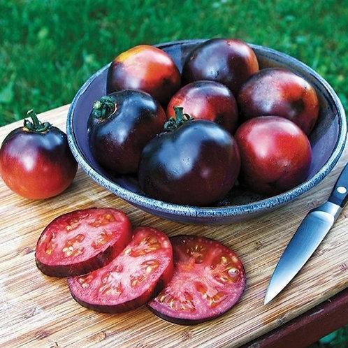 """Plant de Tomate """"Indigo Apple"""" bio en godet"""