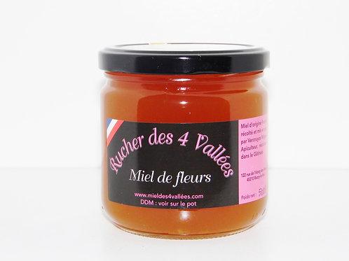 Miel de fleurs / 500gr - France
