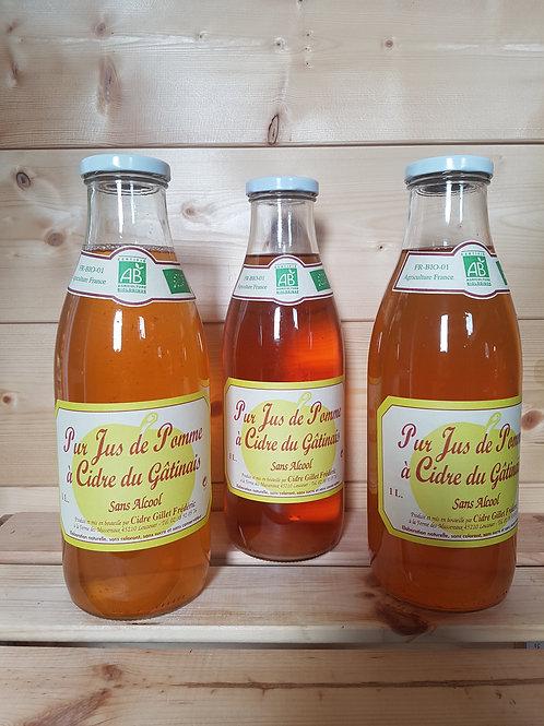 Pur jus de pommes fermier et bio / 1L - France