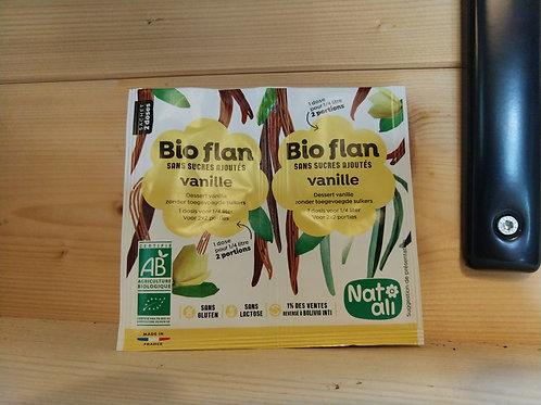 Préparation pour flan bio à la vanille 0.8 gr