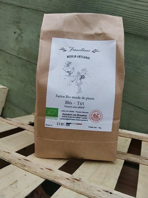 Farine de blés bio T65 / kg
