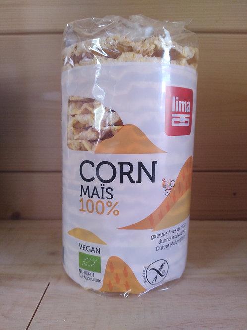 Galettes de Maïs bio / 100gr