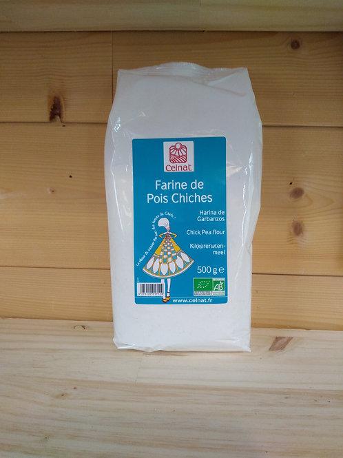 Farine de pois chiches Bio - 500 gr / France