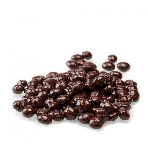 Grains de café bio enrobés de chocolat noir / 100gr - Origine UE /