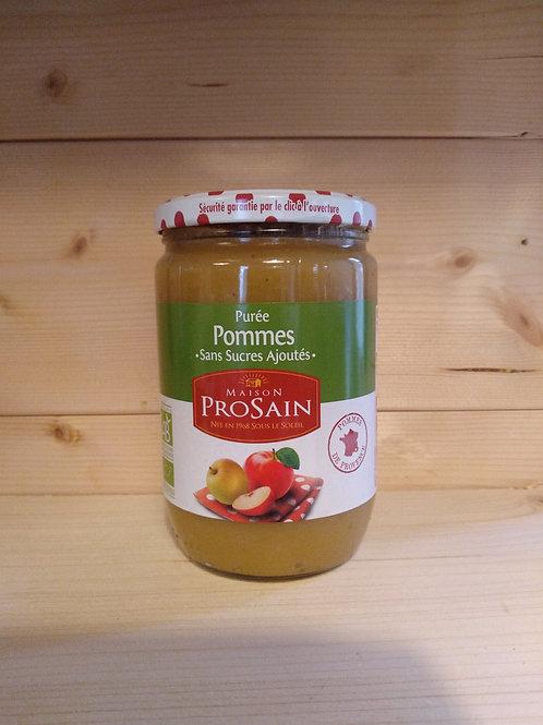 Purée de pommes Bio / 620 gr - France